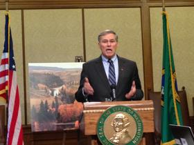 Washington Governor Jay Inslee says the state must prove to the Obama administration that it can create a well-regulated marijuana market.