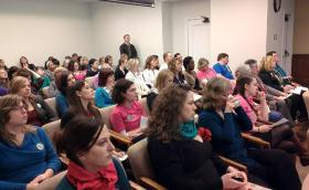 Activists filled a hearing room during a tense debate over abortion rights.