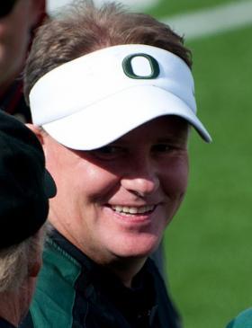 Chip Kelly, the University of Oregon head football coach.