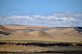 Wind farms cash in on the tax credit based on how much power they produce.