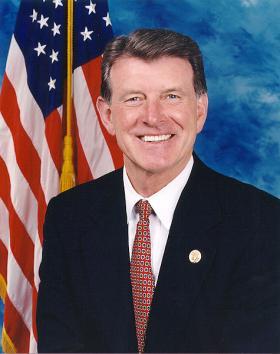 Idaho governor Butch Otter.