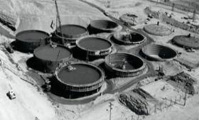 Hanford's 200 single-shell underground waste storage tanks were built in the 1940s.