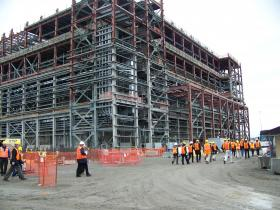 Washington Governor Jay Inslee toured Hanford's troubled waste treatment plant earlier this month.