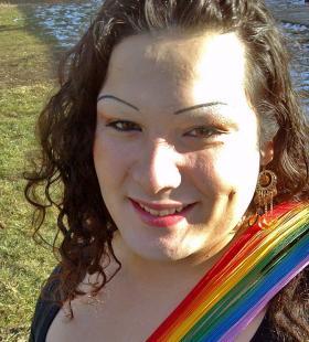 Ally Robledo, born Alberto Robledo, identifies as a woman.