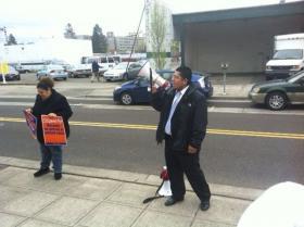 Hugo Nicolas, the organizer of Oregon's immigration advocacy group, Causa.