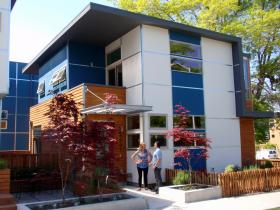 "A NEEA ""Next Step Home"" pilot home in Seattle's Columbia City neighborhood."