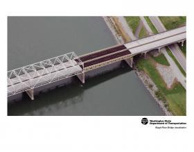 WSDOT's rendering of the temporary bridge replacement.
