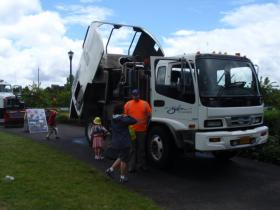 The City of Salem shows off its public works equipment each June.
