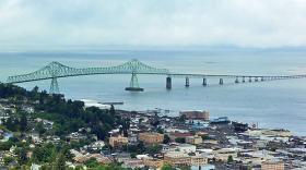 A view of Astoria and the Astoria Bridge