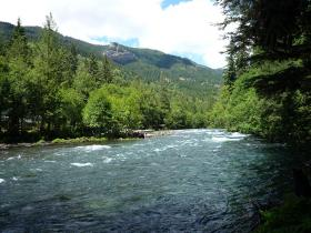 Climate change will reduce snowpack that feeds the McKenzie River in the summer by 56 percent.