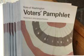 Washington's fall voters' guide may be 20 pages longer and cost nearly $250,000 more to publish.