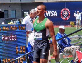 Olympic Decathlon gold medalist and world record holder Ashton Eaton.