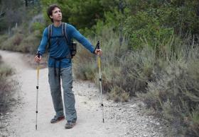Pacific Crest Trail hiker Josh Garrett