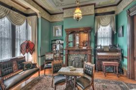 Inside Meeker Mansion