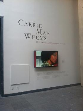 Portland Native Carrie Mae Weems was recently named a MacArthur Foundation fellow for this year.