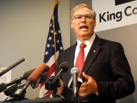 Washington Gov. Jay Inslee calls for support for transportation spending
