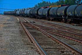 Environmental regulators heard from BNSF Railway that mile-long crude oil trains from North Dakota could cross the Northwest around five times a day in coming years.