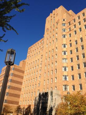 Pacific Tower is a 14-story former public hospital that the state plans to lease for 30 years for a health college and center for non-profits.