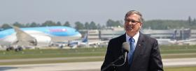 While Governor Inslee has already announced a series of incentives and ideas to incentivize Boeing, to build the airplane here, the problem with that is he's now got his cards on the table and South Carolina sees what he's offering and they could be looking at this and having their own incentive package being composed to offer Boeing as well.