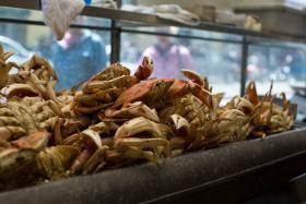 Oregon's Dungeness crab season started on midnight Sunday.