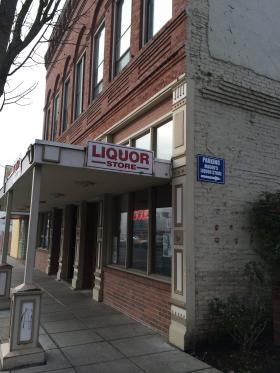 The Oregon Liquor Control Commission sells liquor through about 240 contracted small stores like this one in Salem.