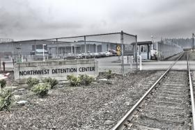 The Northwest Detention Center in Tacoma, Washington is currently experiencing a five-day long hunger strike with more than 100 people refusing to eat.