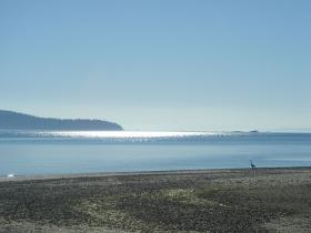 The waters off of Whidbey Island in the Puget Sound will be home to the future tidal energy project.