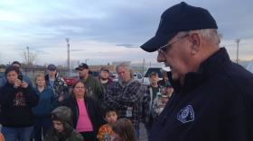 Duane VanBeek is the spokesman for the response team for the natural gas explosion in Plymouth, Wash.