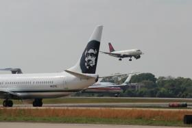 Airline rivals and allies converge at Atlanta's airport this week.