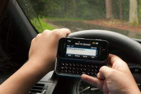 Each fine for distracted driving, including texting and driving, is $124.