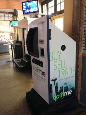 The Pacific Northwest's first Bitcoin ATM is inside Spitfire Grill in Seattle's Belltown neighborhood.