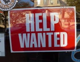 Steady job gains are chipping away at the unemployment rate in Washington state.