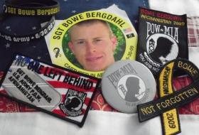 Groups across the country distributed stickers, patches, armbands and other items to get Bergdahl's name out during his captivity.