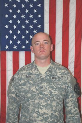 Private First Class Andrew Sass was killed in a training incident at Ft. Irwin, Calif.
