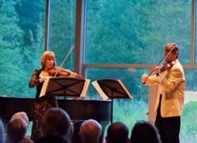 A performance at the 2013 Icicle Creek Chamber Music Festivals