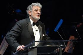 Spanish tenor and conductor Placido Domingo is a dedicated soccer fan.