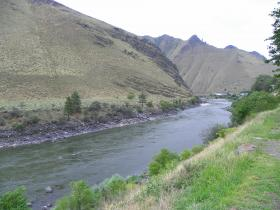 The proposed area is near Riggins, along the Salmon River in north-central Idaho.