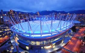 File photo of BC Place in Vancouver, Canada
