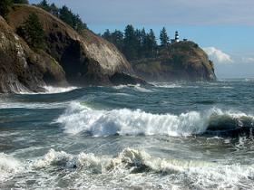 The coastline of Cape Disappointment State Park reaches 27 miles.