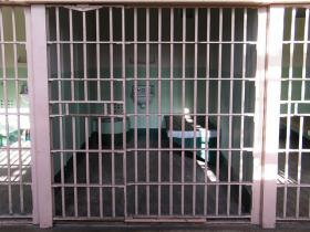 An example of a solitary confinement cell.