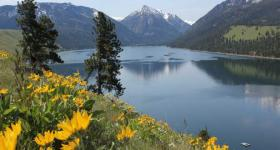 "Wallowa Lake is called ""America's Little Switzerland"" by locals."