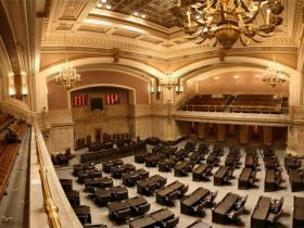 The House Chamber at the Washington state Capitol in Olympia
