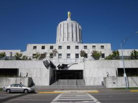 Because of a unique Oregon law, if the state revenues keep going up, they'll actually go down.