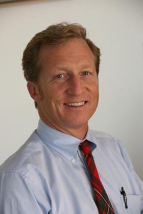 Tom Steyer is an American hedge fund manager, philanthropist, and environmentalist. He is founder and former Co-Senior Managing Partner of Farallon Capital Management, LLC and the co-founder of the OneCalifornia Bank, an Oakland-based community development bank.