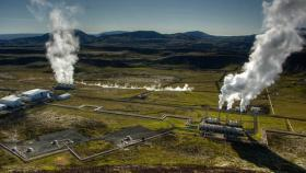 A geothermal power plant. There's been a lot of hype around geothermal power, which uses heat from the below the earth's surface to provide energy. Several Northwest researchers are hoping to push the renewable energy forward.