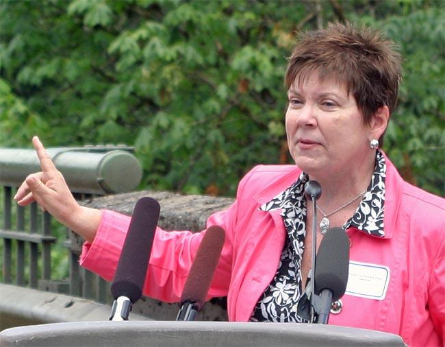 State Senator Pam Roach.