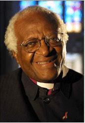 Archbishop Desmond Tutu.