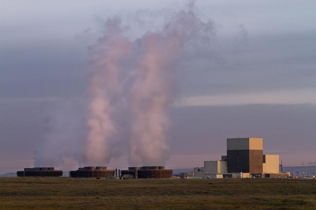 The Columbia Generating Station lies 12 miles NW of Richland, WAshington. It began producing power in 1984.
