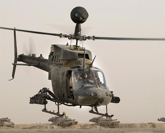 OH58 Kiowa Warrior