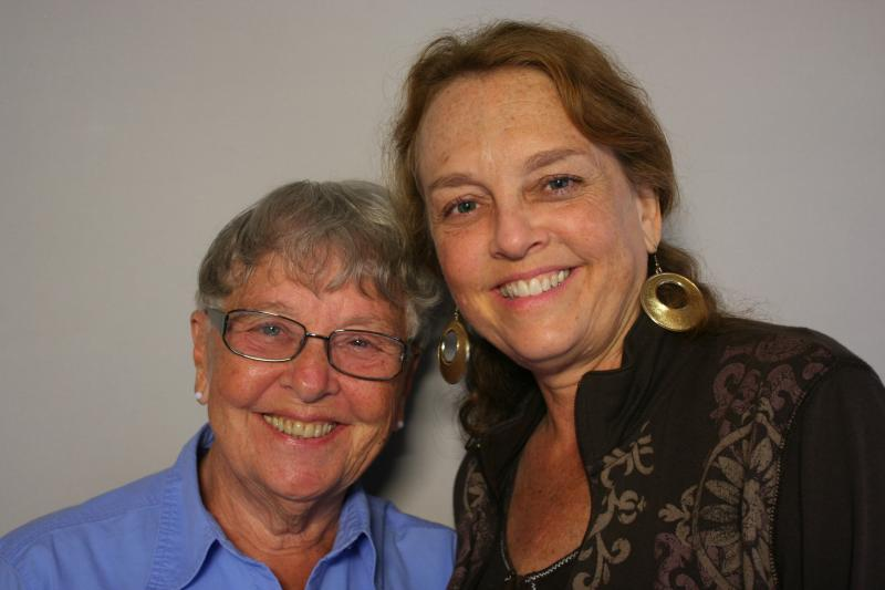 Mary Ann Olson and Lynn Olson